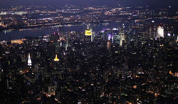 Night「Above The City: Aerial Views Of New York」:写真・画像(13)[壁紙.com]