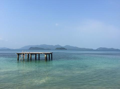 Diving Platform「Wooden Diving platform, Koh Chang, Thailand」:スマホ壁紙(17)