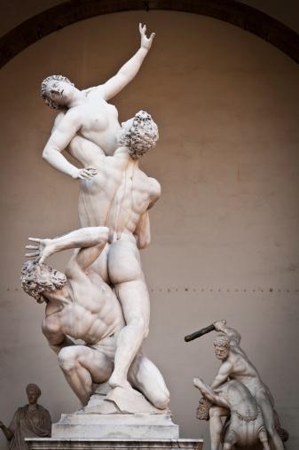 Florence - Italy「Florence Piazza della Signoria Loggia dei Lanzi rennaissnce statues Italy」:スマホ壁紙(8)