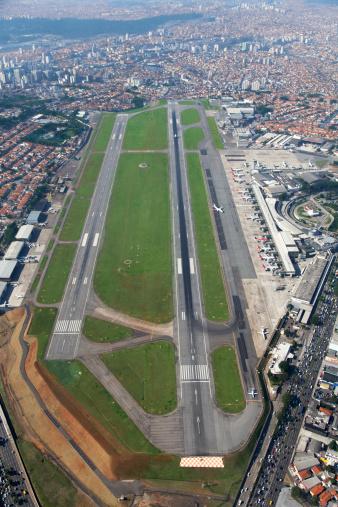 Avenue「Congonhas airport in Sao Paulo」:スマホ壁紙(1)