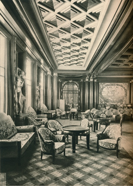 Ceiling「'S. S Ile de France, Grand Salon', c1927」:写真・画像(11)[壁紙.com]