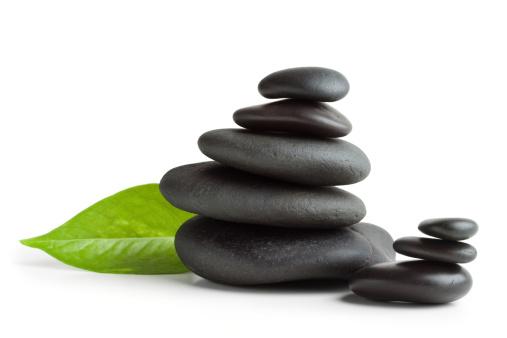 Stack Rock「Balanced massage stones, isolated」:スマホ壁紙(9)