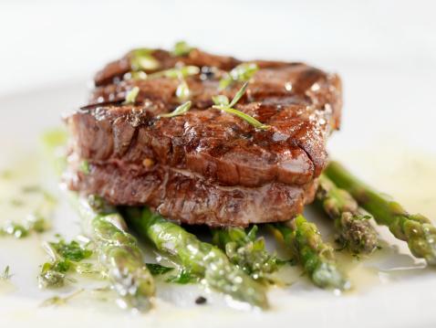Asparagus「Juicy Fillet Steak with Asparagus」:スマホ壁紙(5)