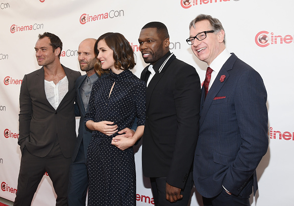 50 Cent - Rapper「CinemaCon 2015 - 20th Century Fox Invites You To A Special Presentation Highlighting Its Future Release Schedule」:写真・画像(15)[壁紙.com]