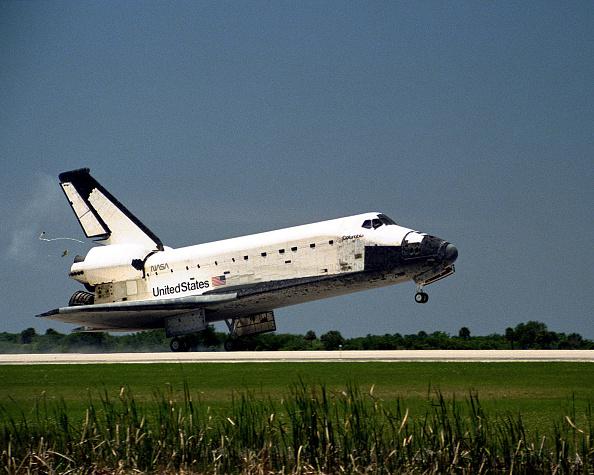 Space Shuttle「Shuttle Columbia lands safely」:写真・画像(14)[壁紙.com]