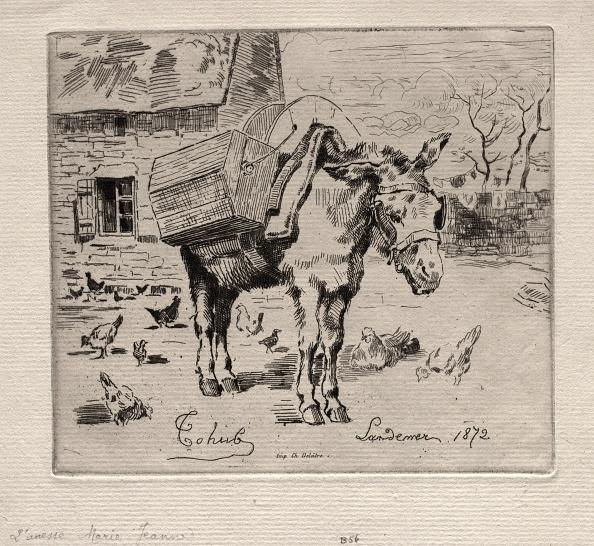 Etching「The Mule」:写真・画像(0)[壁紙.com]