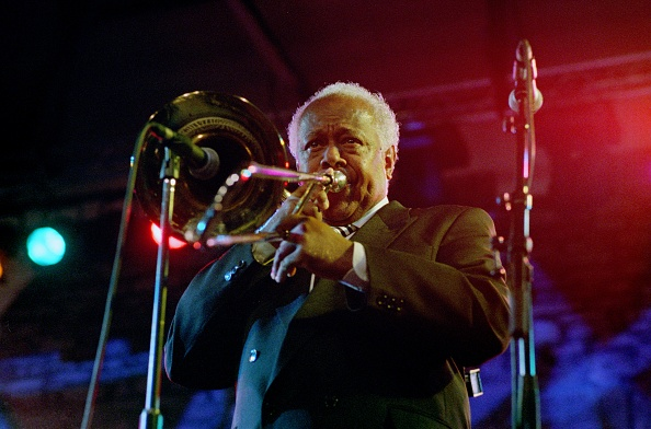 金管楽器「Slide Hampton, Brecon Jazz Festival, Powys, Wales, August 12, 2005」:写真・画像(16)[壁紙.com]