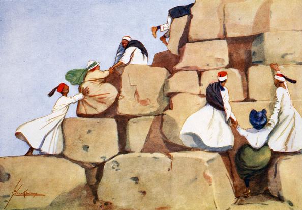 世界遺産「The Climbers' 1908」:写真・画像(9)[壁紙.com]