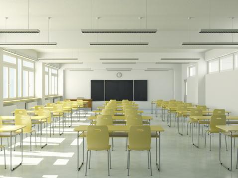 Learning「Empty Classroom」:スマホ壁紙(12)