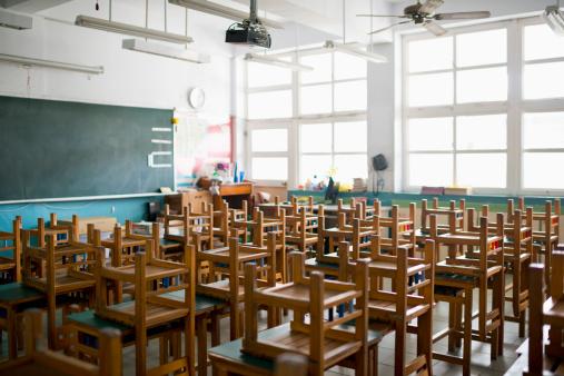 Ceiling Fan「Empty classroom」:スマホ壁紙(4)