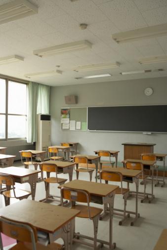 Japan「Empty classroom」:スマホ壁紙(5)