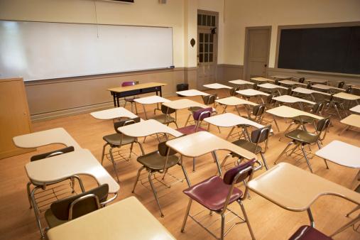 Learning「Empty classroom」:スマホ壁紙(4)