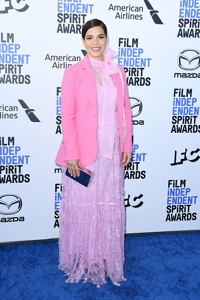 Pale Pink「2020 Film Independent Spirit Awards  - Arrivals」:写真・画像(6)[壁紙.com]
