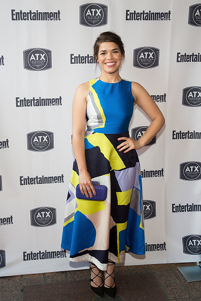 """Lace-up「The """"Ugly Betty"""" Reunion presented with Entertainment Weekly and at the ATX Television Festival」:写真・画像(4)[壁紙.com]"""