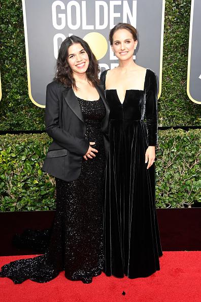 America Ferrera「75th Annual Golden Globe Awards - Arrivals」:写真・画像(15)[壁紙.com]
