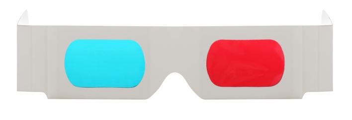 Eyewear「3-D Glasses on a White Background」:スマホ壁紙(4)