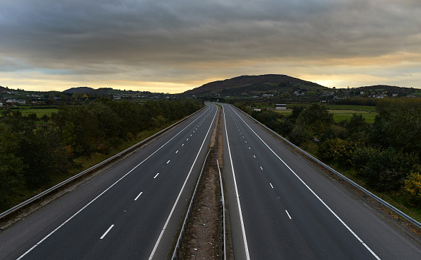 Multiple Lane Highway「The British Government Prepares New Proposals On Irish Border Brexit Issue」:写真・画像(0)[壁紙.com]