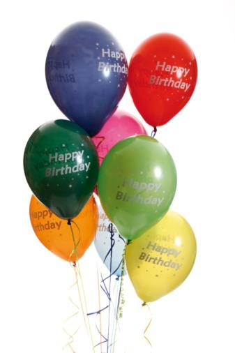 Congratulating「Colourful balloons」:スマホ壁紙(9)