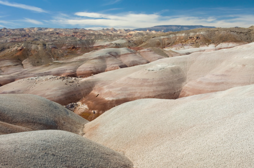 Capitol Reef National Park「Colourful Bentonite Hills of Capitol Reef National Park, Utah」:スマホ壁紙(12)