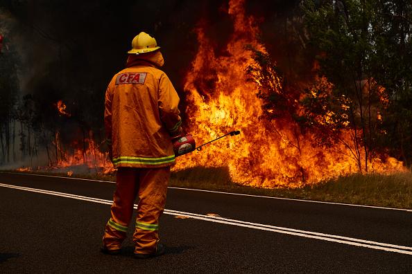 オーストラリア「Firefighters Remain On High Alert As Bushfire Conditions Ease Across NSW」:写真・画像(9)[壁紙.com]