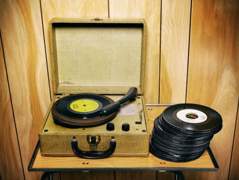 Pop Music「fx Vintage Record Player」:スマホ壁紙(11)