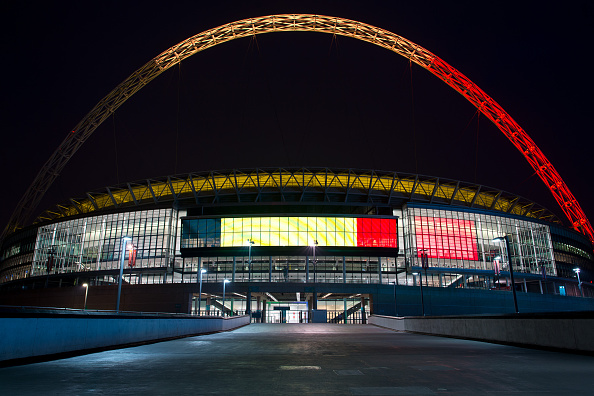Architecture「London Landmarks Are Lit Up In Support Of Belgium」:写真・画像(4)[壁紙.com]