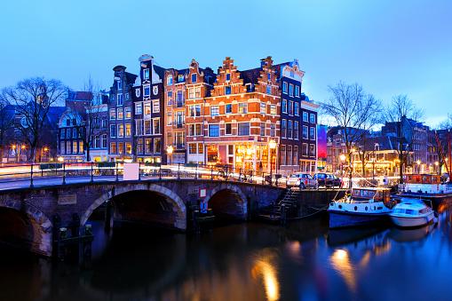 Amsterdam「City view in Amsterdam」:スマホ壁紙(8)