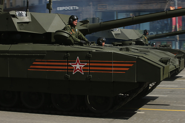 Armored Vehicle「Moscow Celebrates Victory Day 70th Anniversary」:写真・画像(10)[壁紙.com]