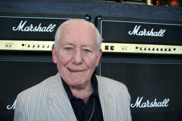 Stack Rock「Dr Jim Marshall OBE, at Marshall Amplification plc, worldwide headquarters; which he founded in 1962, makers of the rock world famous Marshall Amplifiers including, the Full Stack. Musicians such as The Who, Eric Clapton and Jimi Hendrix spoke to Jim」:写真・画像(13)[壁紙.com]