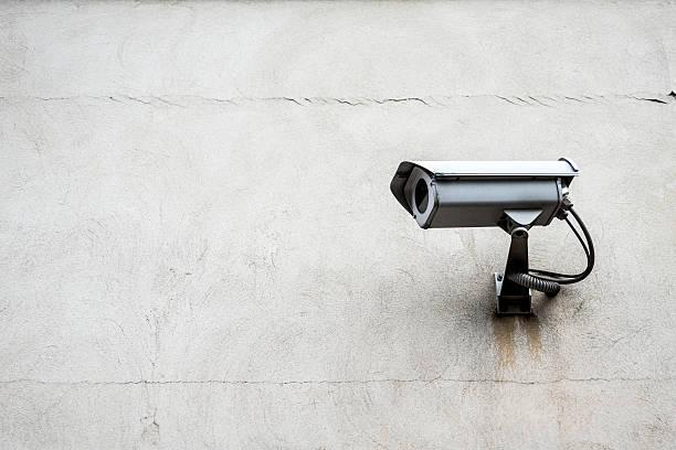 Surveillance camera with wall:スマホ壁紙(壁紙.com)