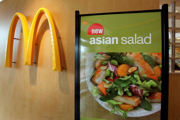 Salad「McDonalds Begins Selling Fitness Videos」:写真・画像(2)[壁紙.com]