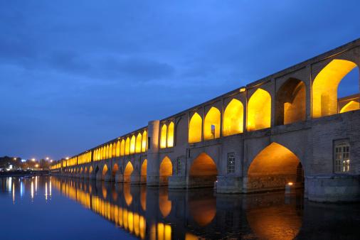 Iranian Culture「Si-o-se Pol Bridge, Isfahan, Iran」:スマホ壁紙(1)