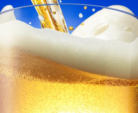 Beer「Beer foam wave」:スマホ壁紙(19)