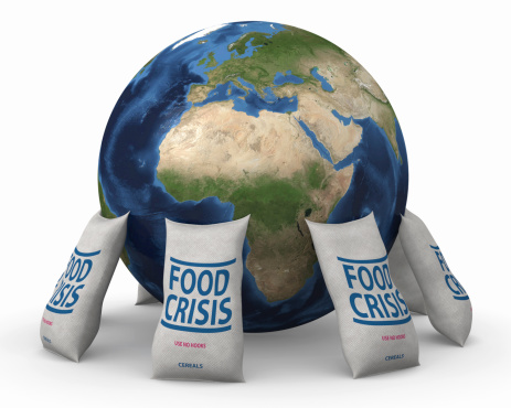 A Helping Hand「Global food crisis」:スマホ壁紙(3)