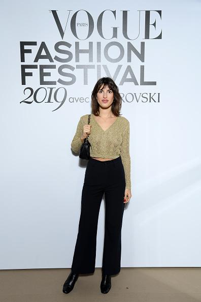 Cardigan Sweater「Vogue Fashion Festival 2019 : Photocall At Hotel Potocki In Paris」:写真・画像(19)[壁紙.com]