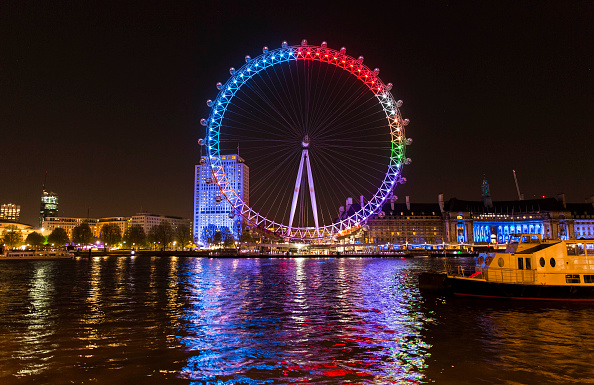 Millennium Wheel「Facebook Lights Up The London Eye With The Nation's General Election Conversations」:写真・画像(18)[壁紙.com]