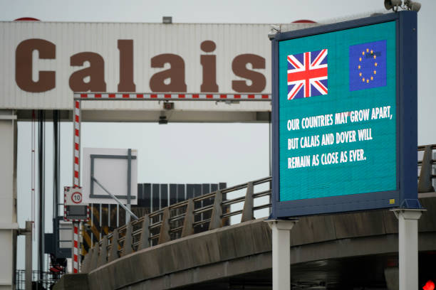 Activity At Calais As The UK Enters Brexit Transition Period:ニュース(壁紙.com)