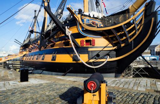 Battle「HMS Victory under repairs」:スマホ壁紙(15)