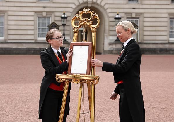 Buckingham Palace「The Duchess Of Cambridge Gives Birth To A Baby Boy」:写真・画像(19)[壁紙.com]
