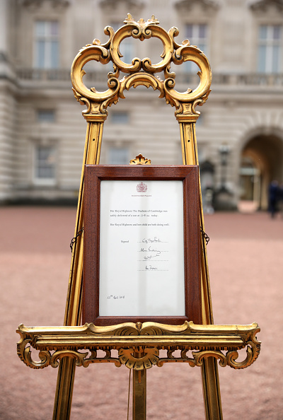 Buckingham Palace「The Duchess Of Cambridge Gives Birth To A Baby Boy」:写真・画像(10)[壁紙.com]