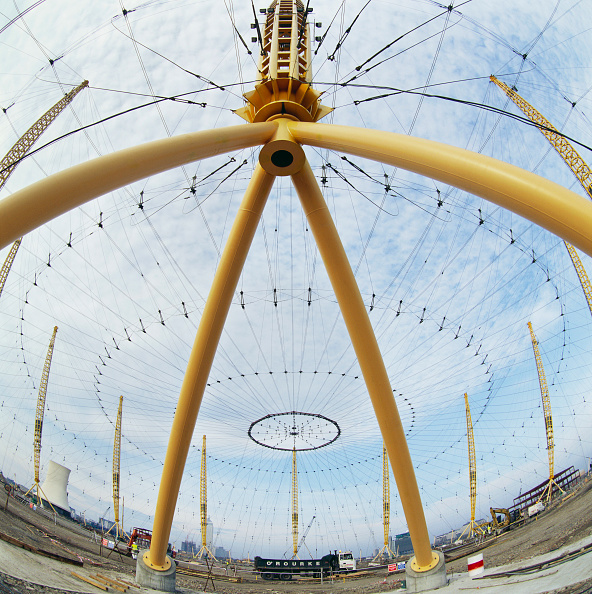 Circle「Roof support for the Millennium Dome, Greenwich, London, UK」:写真・画像(10)[壁紙.com]