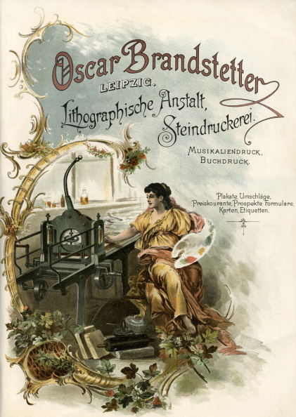 1900「German advert for Oscar Brandstetter printers」:写真・画像(3)[壁紙.com]