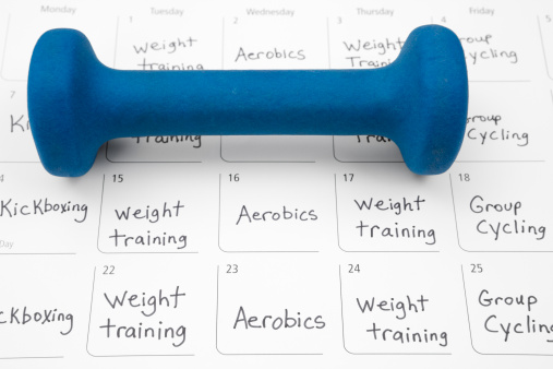 Weight Training「Healthy Lifestyle: Exercise Schedule」:スマホ壁紙(7)