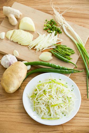 Garlic Clove「Stir fried shredded potato」:スマホ壁紙(11)