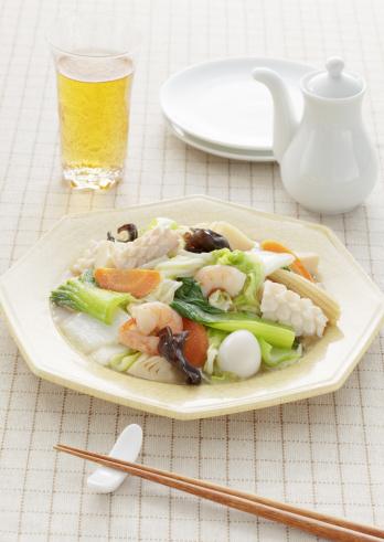 Wood ear「Stir fried seafood and vegetables」:スマホ壁紙(14)