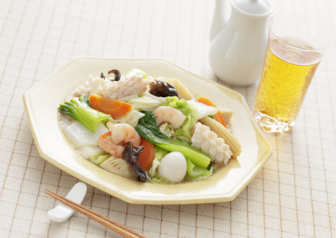 キクラゲ「Stir fried seafood and vegetables」:スマホ壁紙(10)