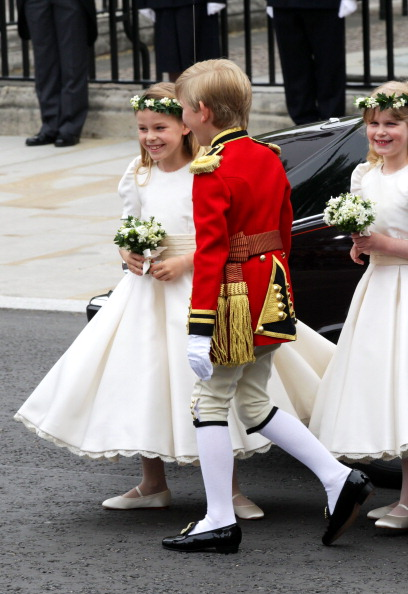 Margarita Armstrong-Jones「Royal Wedding - Wedding Guests And Party Make Their Way To Westminster Abbey」:写真・画像(11)[壁紙.com]