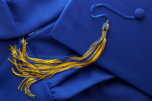 卒業「タッセル付きキャップ、卒業ガウン」:スマホ壁紙(14)