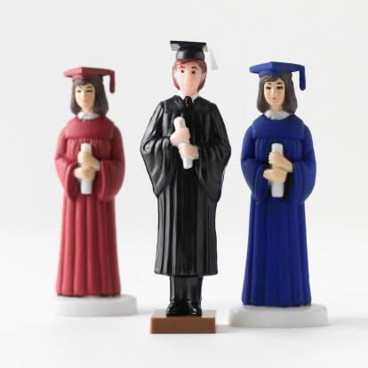 Graduation Gown「Graduation figurines」:スマホ壁紙(10)