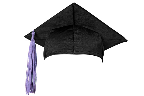 Mortarboard「Graduation cap (isolated on white)」:スマホ壁紙(15)